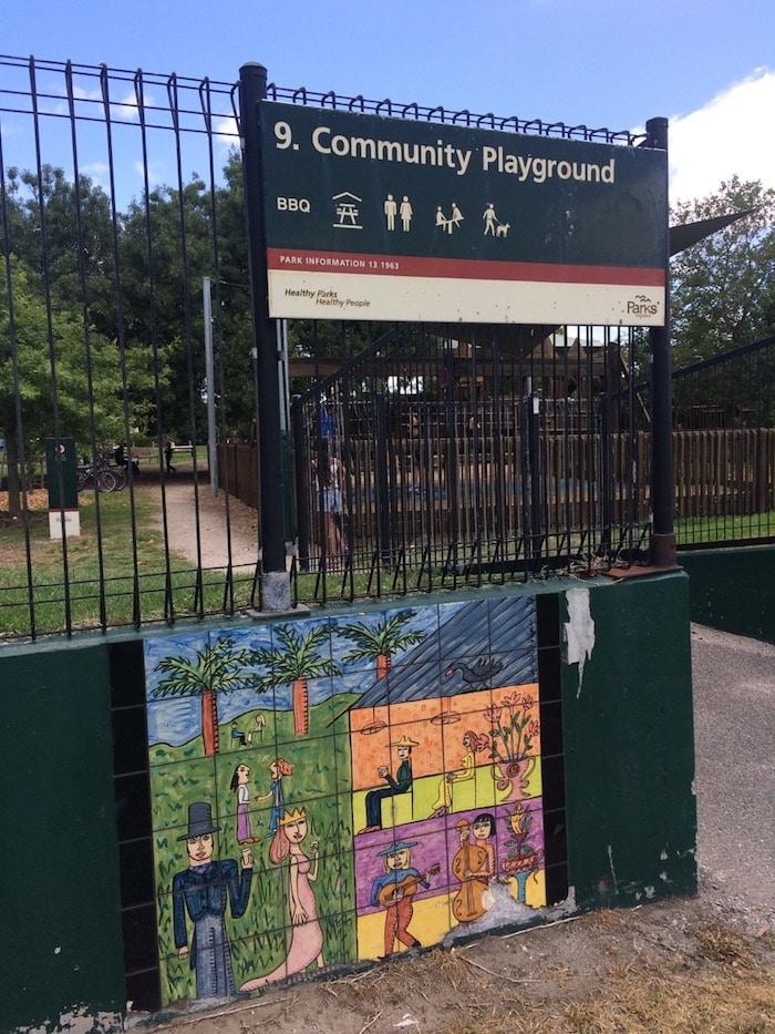 Albert Park playground pic