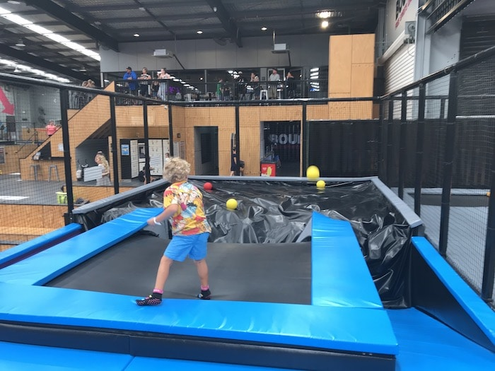 Bounce Gold Coast for toddlers - junior jumper area