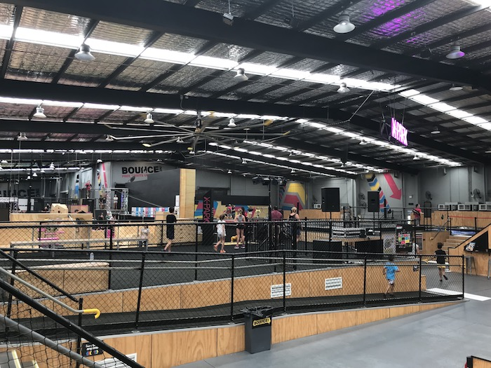 Bounce Air Factory trampoline park pic