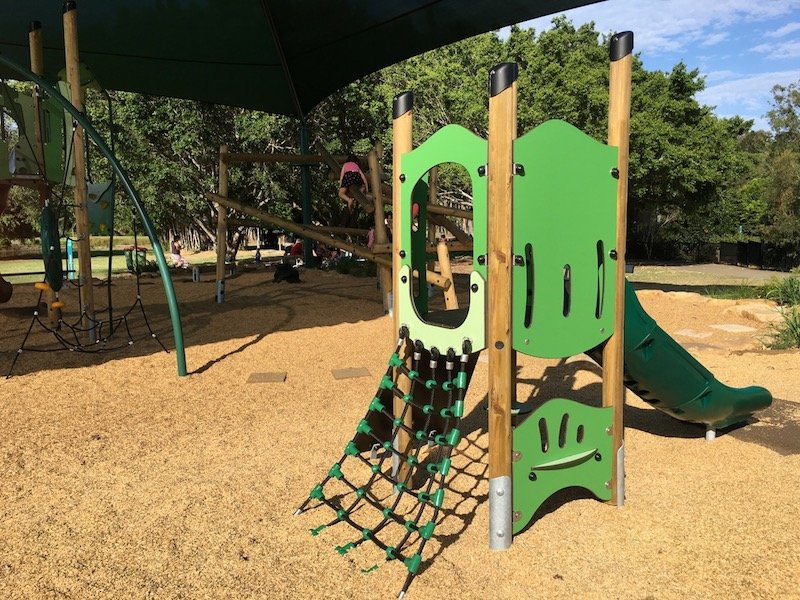 gold coast regional botanic gardens Playground for toddlers pic