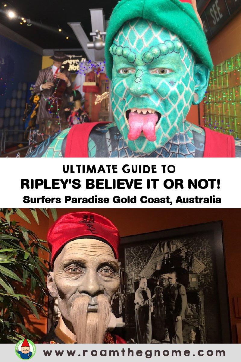 PIN Ripleys surfers paradise