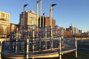 Pier 51 Playground at Hudson River Park . ROAM THE GNOME Family Travel Website. Hundreds of fun ideas and activities to help you plan and book your next family vacation or weekend adventure.