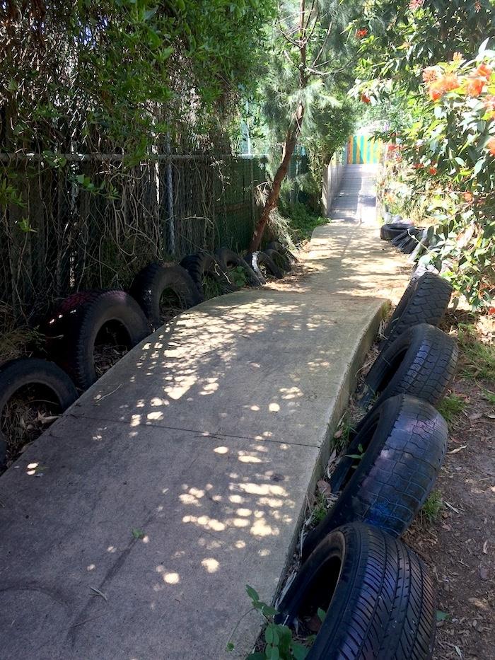 st kilda playground tracks pic