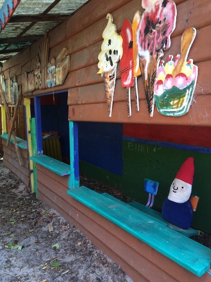 adventure playground st kilda shop play set up pic
