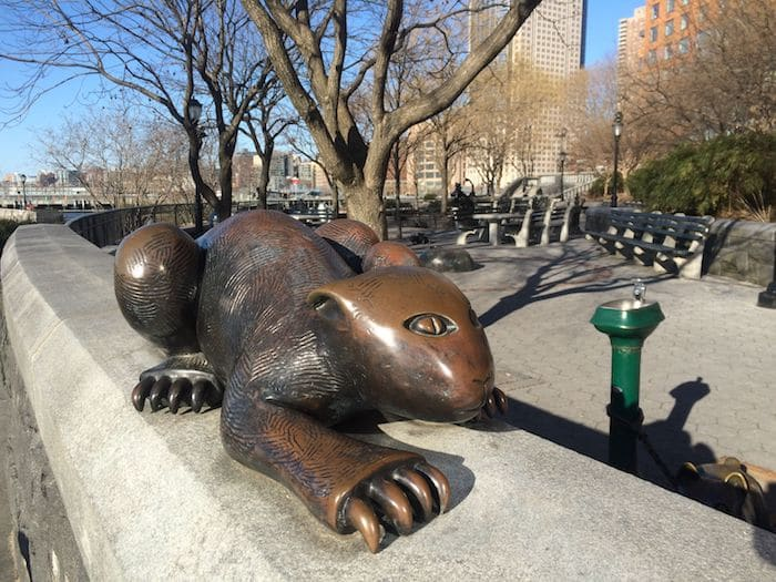 Unique things to do in NYC? check out the tom otterness statues