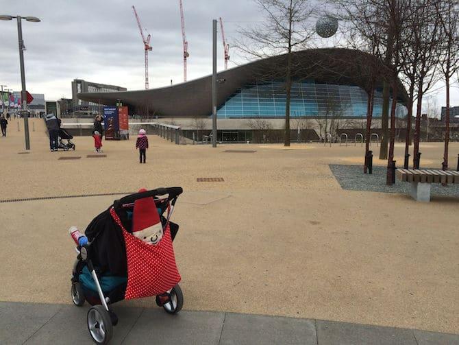 Adventure Playground Olympic Park London. ROAM THE GNOME Family Travel Website.