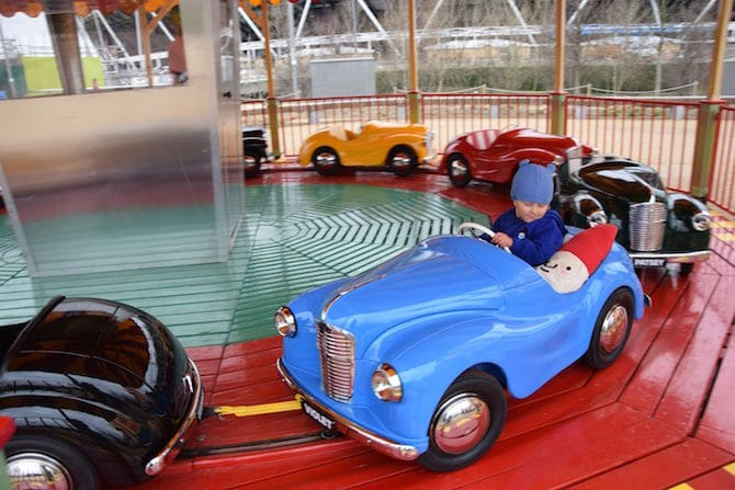 Vintage rides at Adventure Playground Olympic Park . ROAM THE GNOME Family Travel Website.