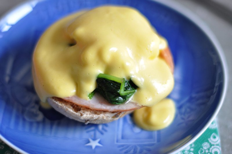 eggs benedict by cyclone bill