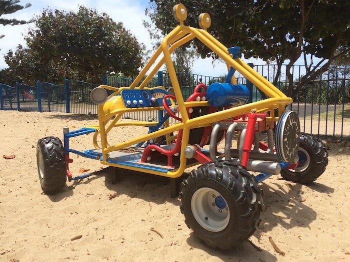 photo - north burleigh playground buggy car