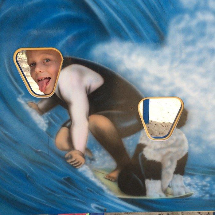 photo - north burleigh playground gold coast photo board