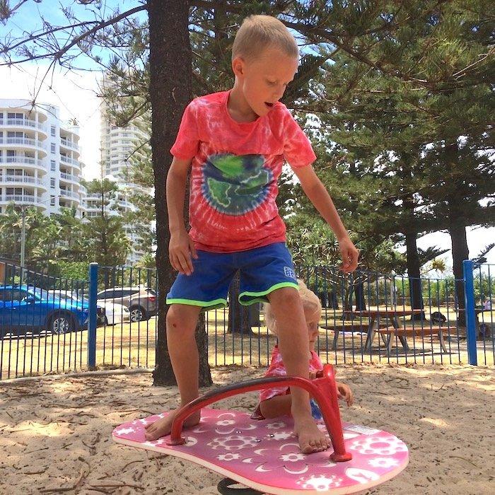 photo - north burleigh playground wobble board