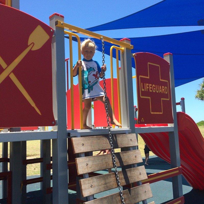 photo - tallebudgera surf club playground chain 1