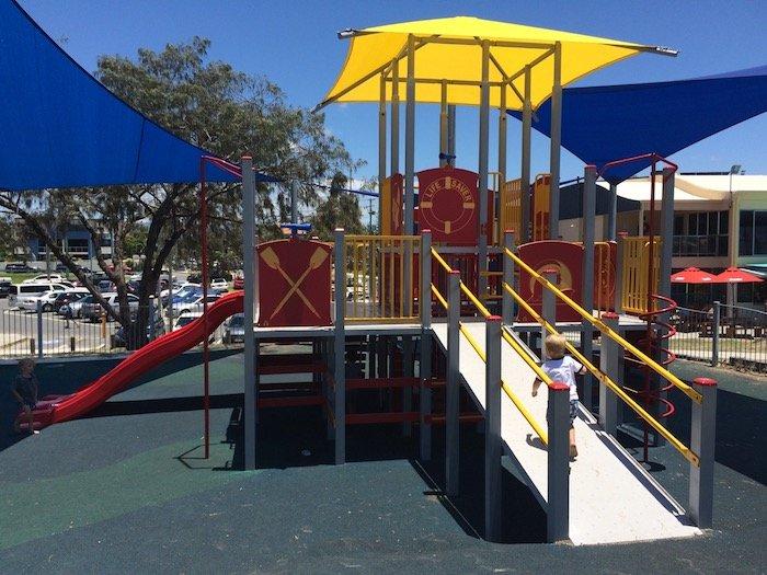 photo - tallebudgera surf club playground ramp
