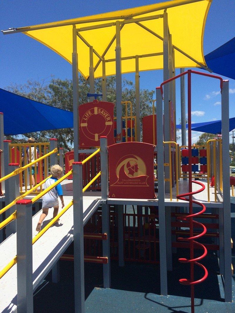 photo - tallebudgera surf club playground spiral 1