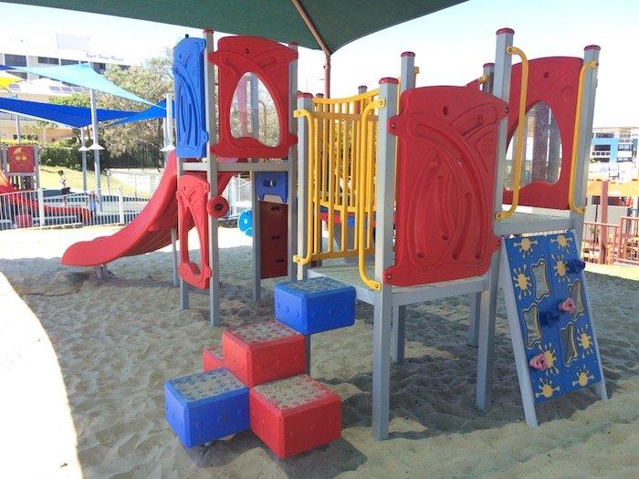photo - tallebudgera surf club playground toddler fort