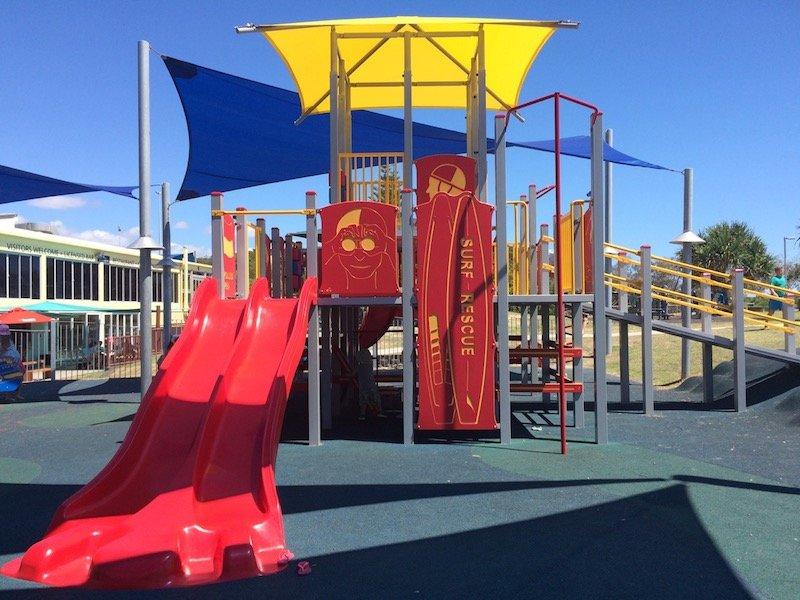 photo - tallebudgera surf club playground view 1