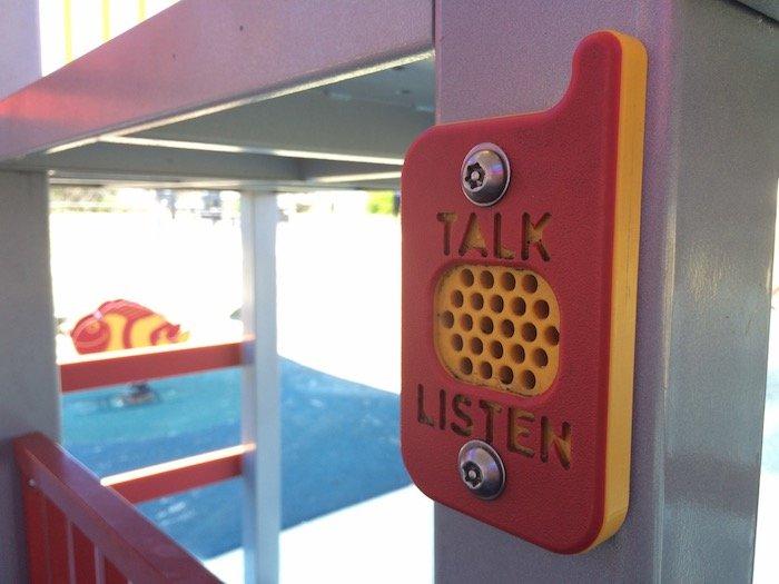 photo - tallebudgera surf club playground walkie talkies