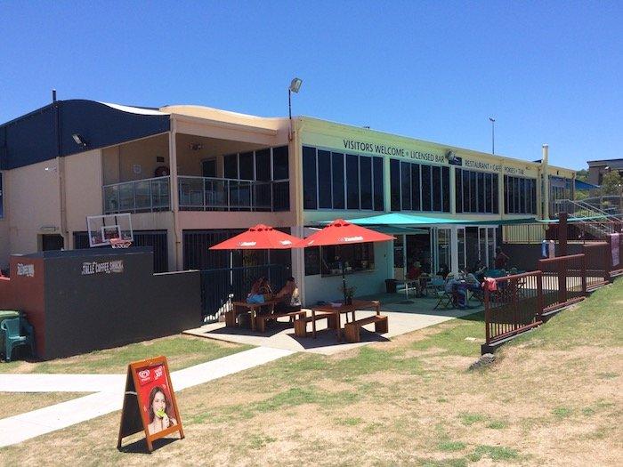 photo - tallebudgera surf club playground