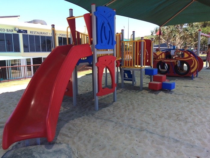 photo - tallebudgera surf club toddler play fort