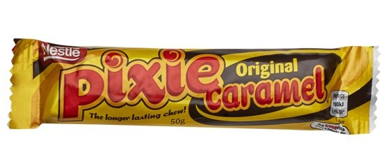 nestle pixie caramel bars pic