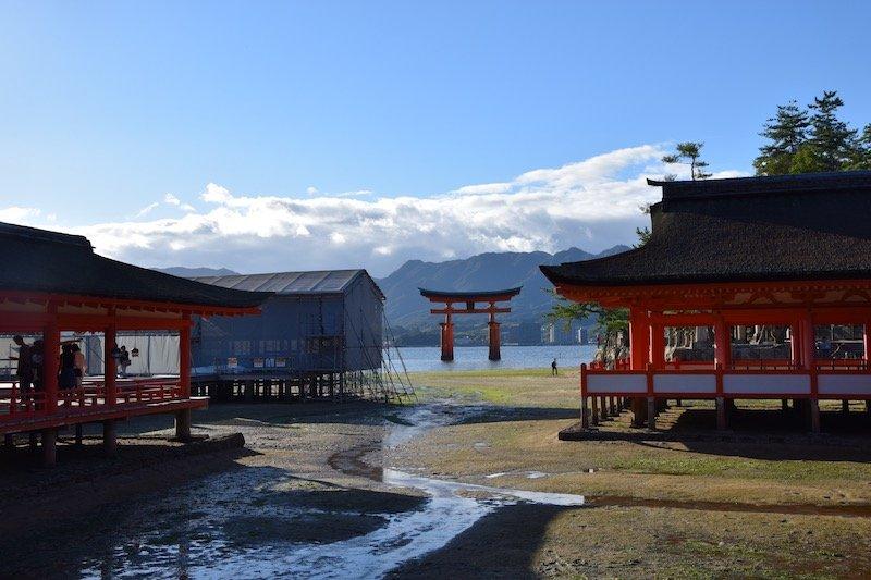 miyajima day trip tide out