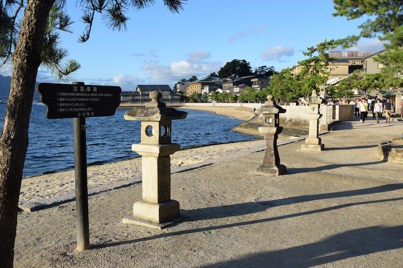 miyajima island pathway