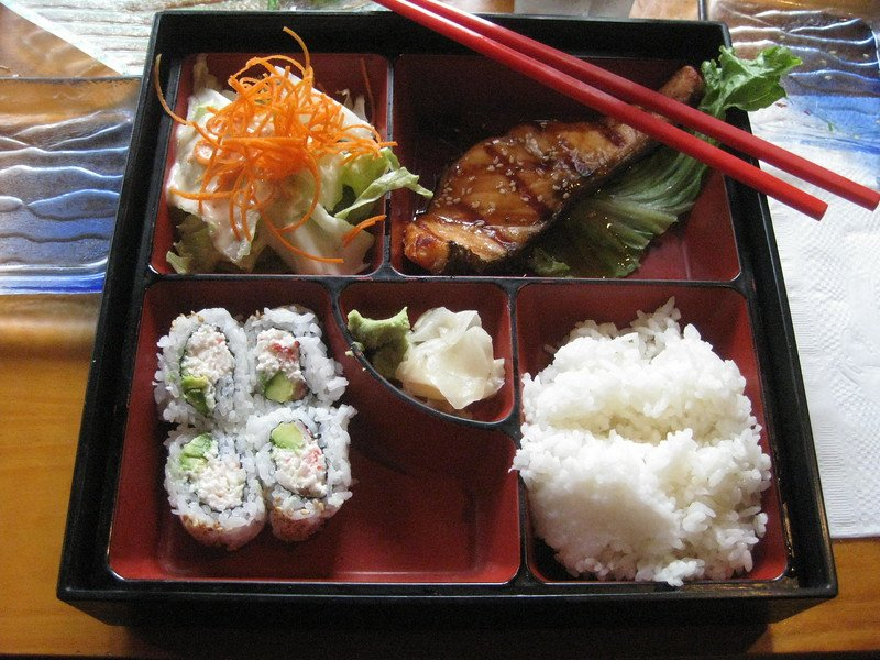 bento box by michael ocampo