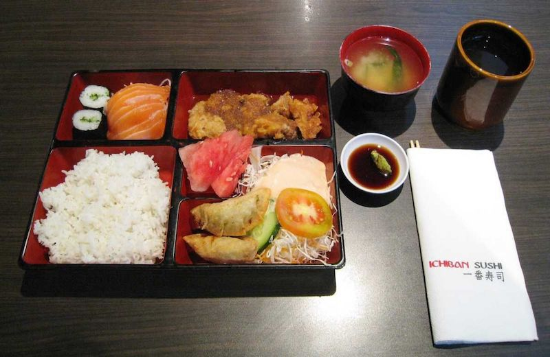 bento box from ichiban sushi 800 - source unknown