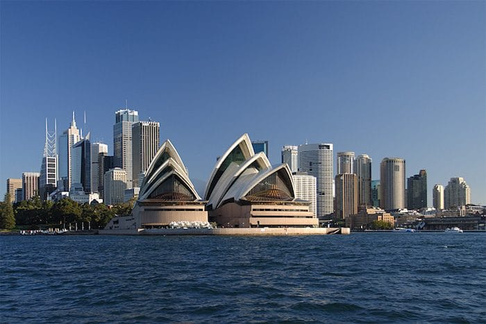 sydney travel blog - Sydney CBD view