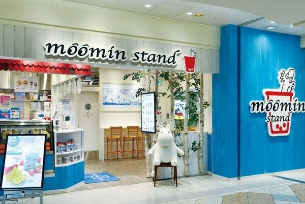 moomin stand restaurant ikebukuro