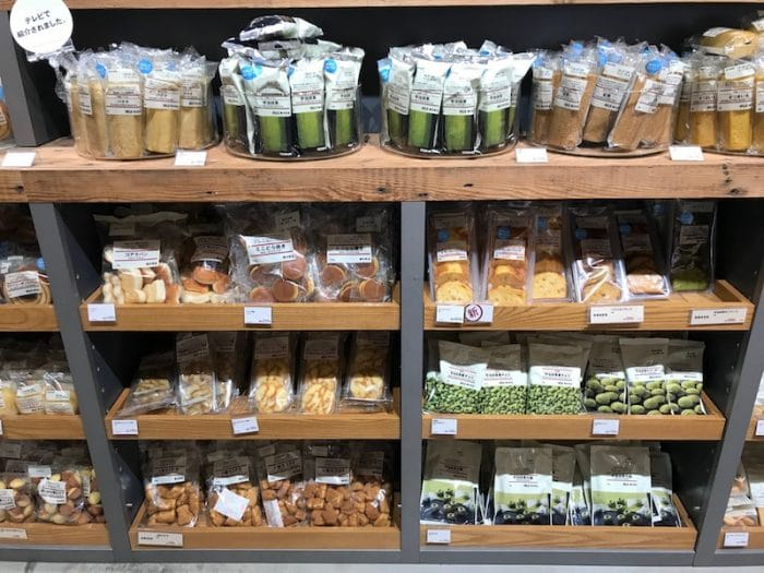 muji shibuya grocery store pic