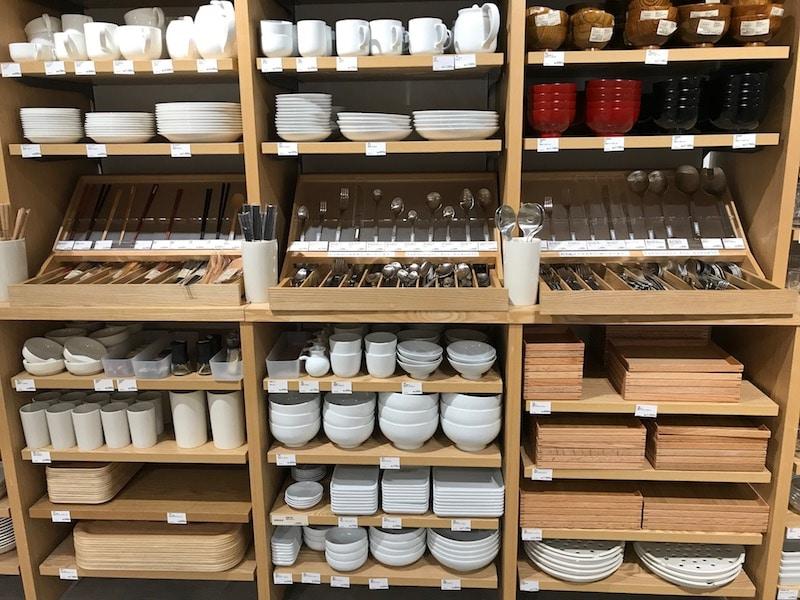muji kitchenware