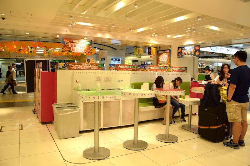 image - tokyo okashi land seating