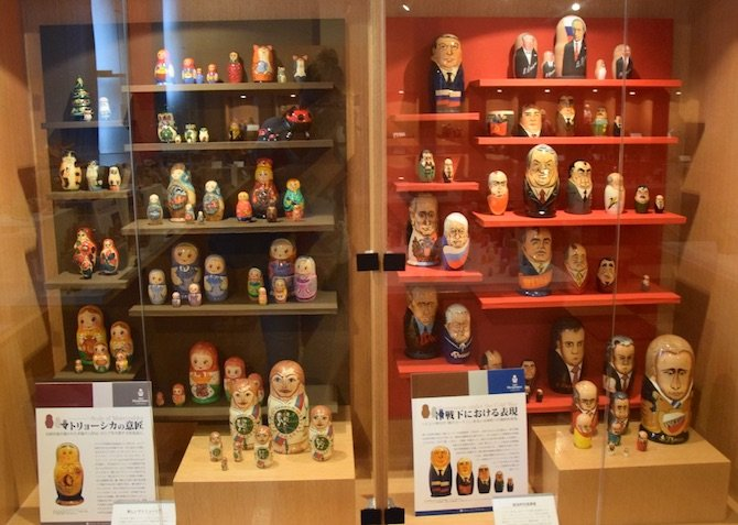 image - tokyo toy museum russian dolls