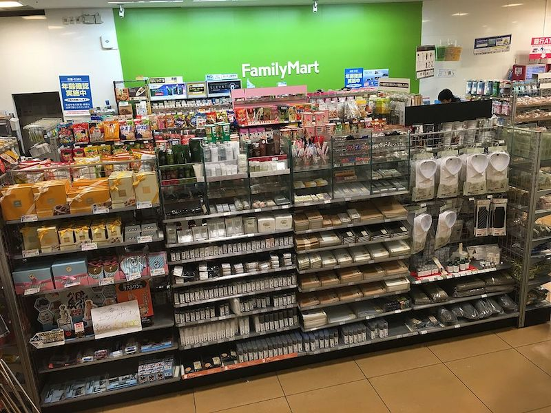Japanese convenience store muji products