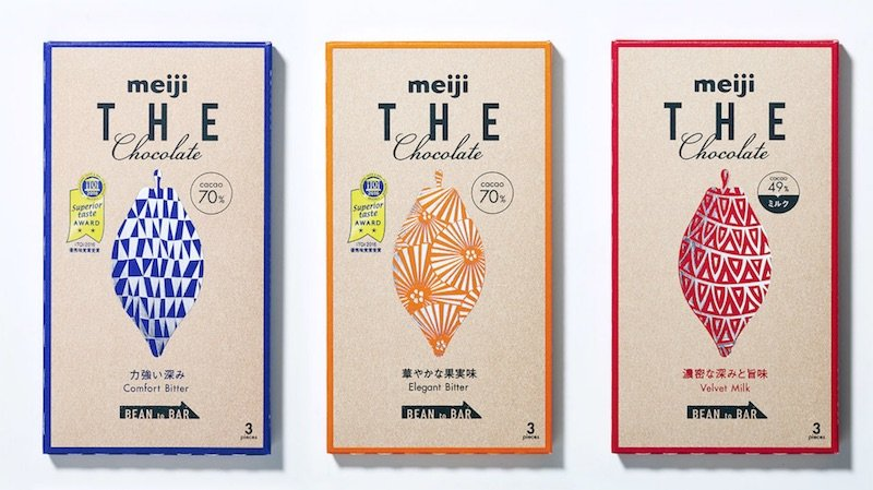 Meiji THE chocolate three flavors