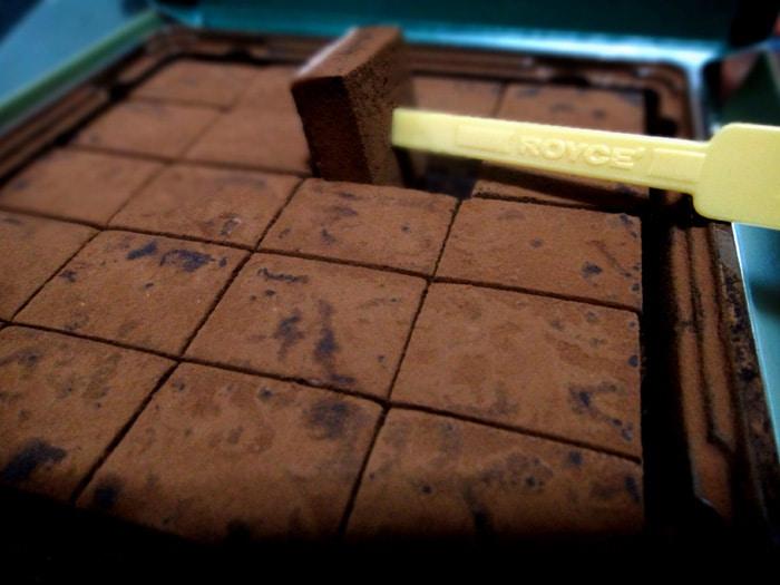 Nama japanese chocolate pic by royce