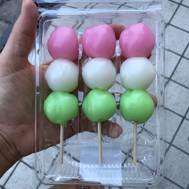 dango mochi family mart convenience store