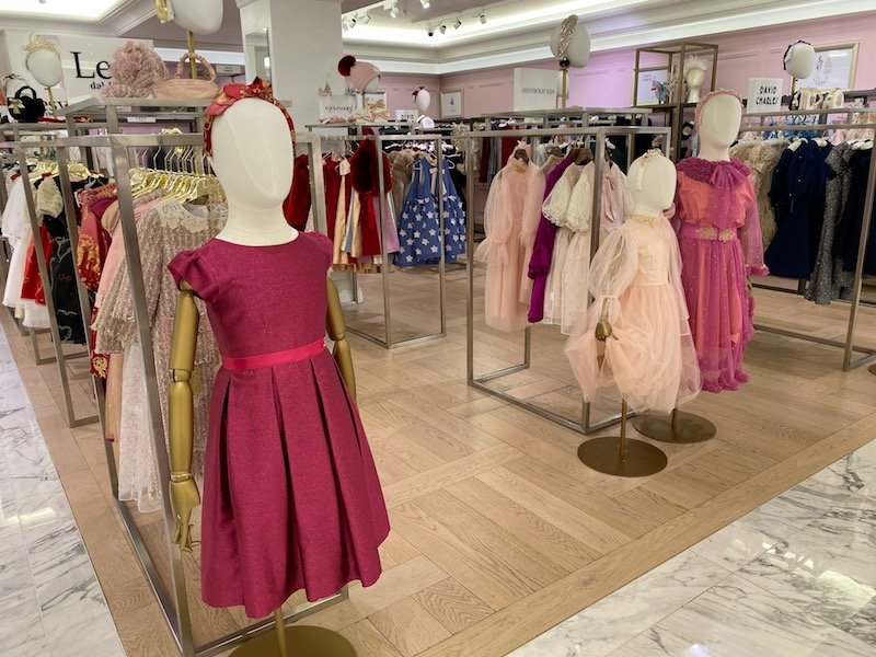 harrods girls dresses