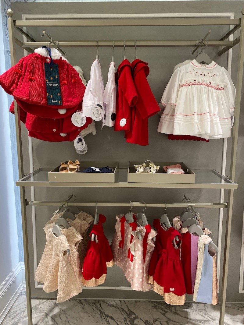 harrods toddler dresses for christmas pic
