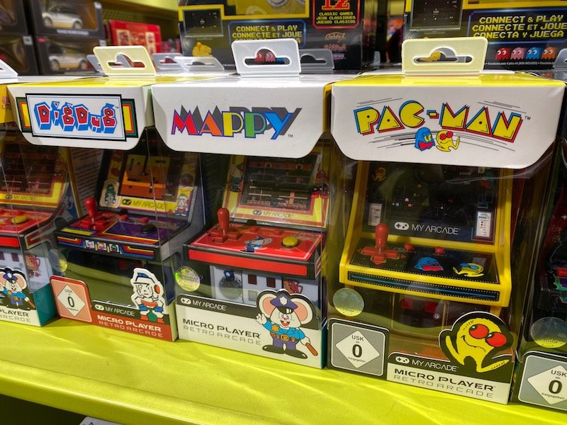 harrods toy shop pack man games