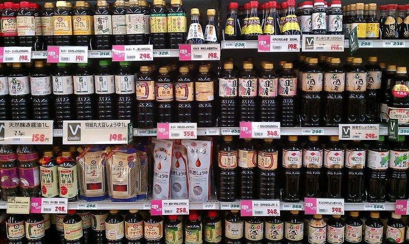 japanese soy sauce bottles pic by yuya tamai