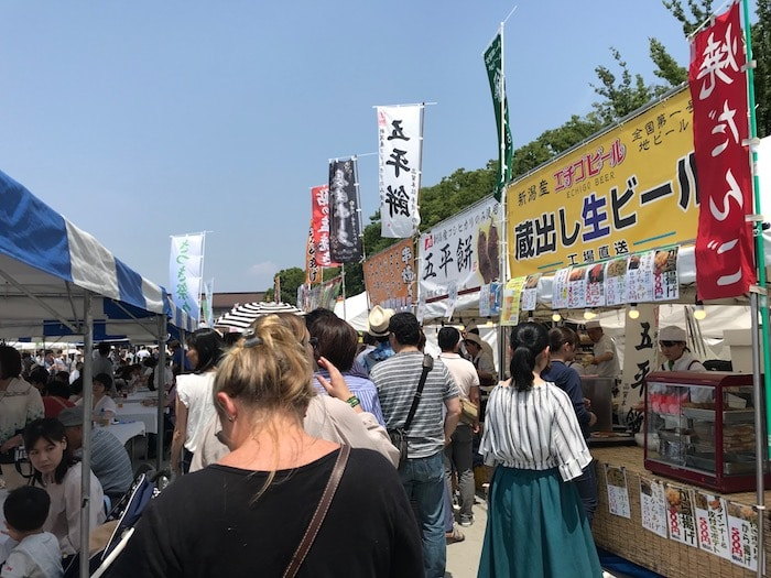 japanese street food festival in ueno - what to eat in tokyo