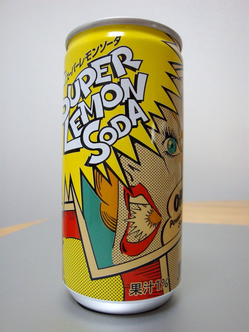 super lemon soda by david pursehouse