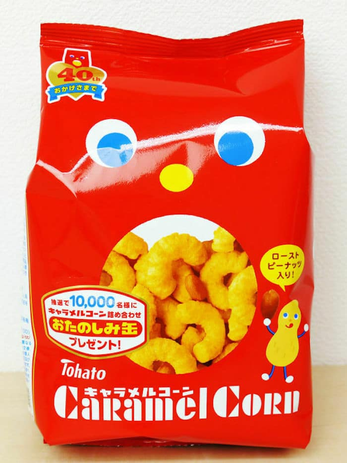 japanese candy - tohato caramel corn