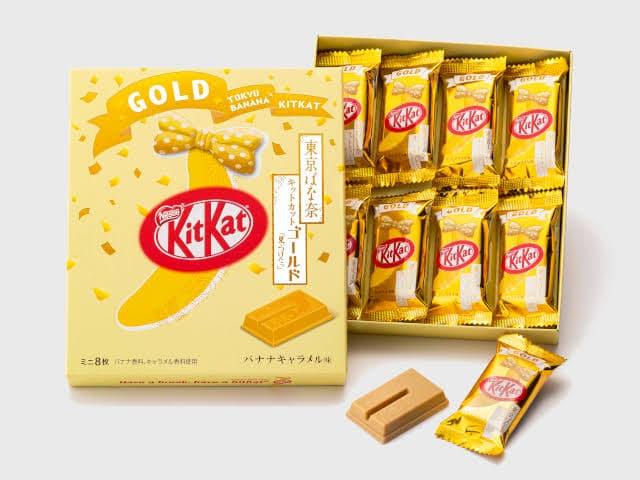 tokyo banana kit kat gold pic