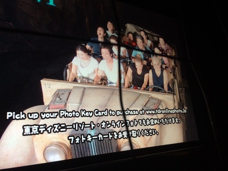 Indiana Jones Adventure Ride at DisneySea candid shot pic 800