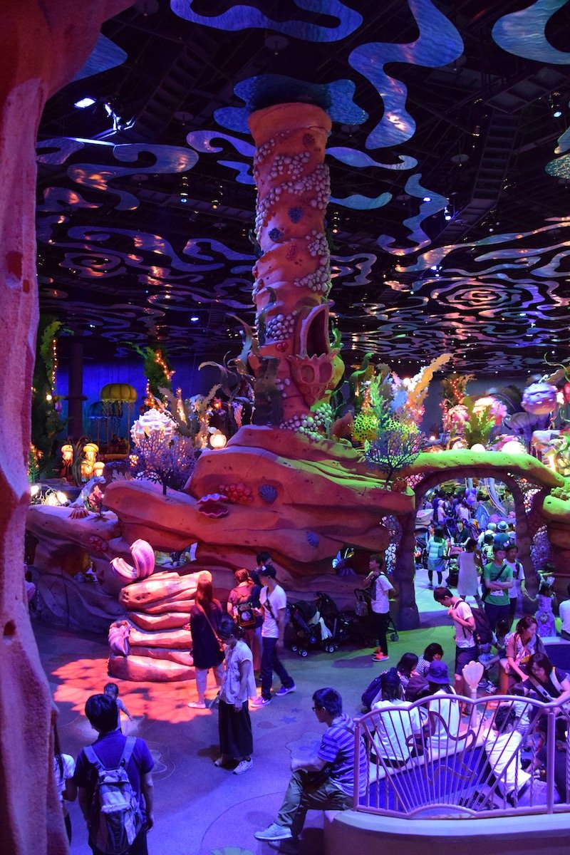 ariel mermaid lagoon disneysea view pic 800