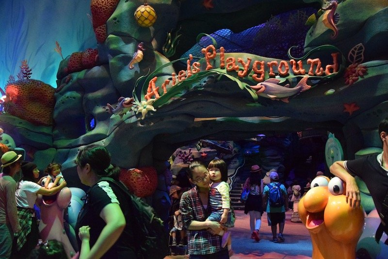 ariels playground at disneysea mermaid lagoon pic 800