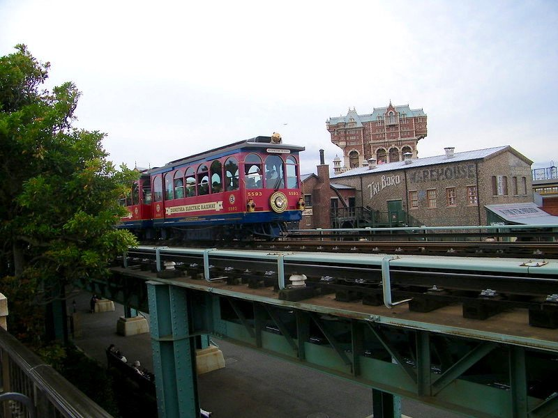 disneysea electric railway by joel